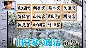 旧宮家の皇籍復帰提言のNEWSをテレ東は報道するのに韓国系NHKは報道しないw