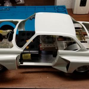 オオタキ 1/12 BMW 3.5 CLS その2