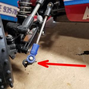タミヤ アスチュート 2WD 修理