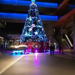 二子玉川のクリスマスイルミネーション