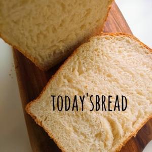 今朝の食パン