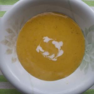 残り野菜の冷製スープ