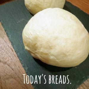 今日の白パン