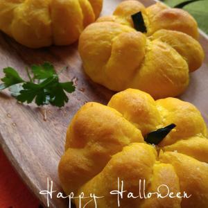 かぼちゃパンの朝ごパン