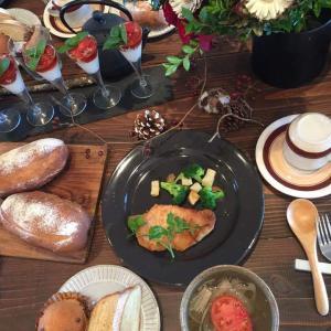 パリスタイル金澤で食卓を飾る