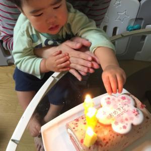 パパの誕生日だったんだ。