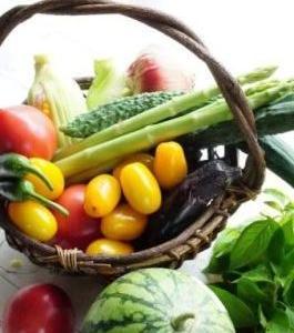 自由に育った野菜は美しくおいしい