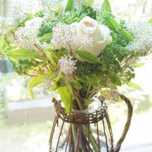 花器つきパリスタイル金澤「おうちブーケ」