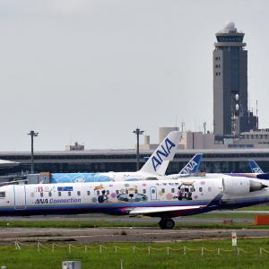 IBEX Airlines  アイベックスエアラインズ 「むすび丸」デザイン機