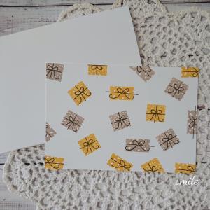 【ボナンザ・バディー】誕生日カード