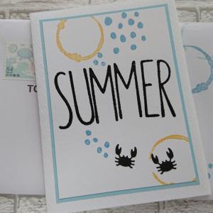 夏のごあいさつ~雅風さんへ~