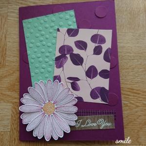 娘からの母の日カード