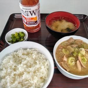 筑波サーキットのもつ煮定食