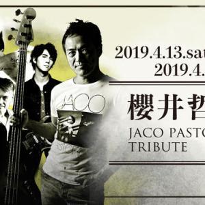 櫻井哲夫 JACO PASTORIUS TRIBUTE SPECIAL SESSION
