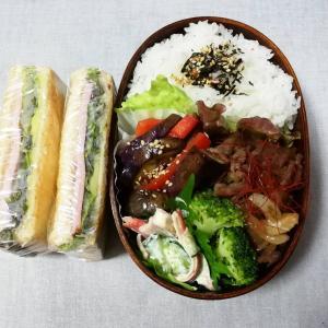 焼き肉弁当&サンドイッチ弁当