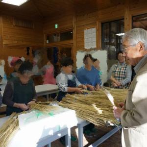 【レポート】12月1日(日)保田 茂 先生講演会と【わら納豆作り】①