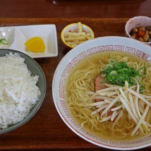 寿食堂 呉市 ラーメン定食 生姜焼き弁当