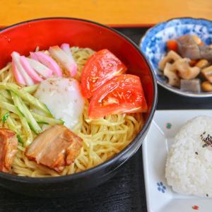 冷麺セット レストラン城山