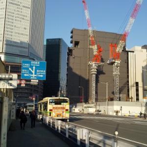 大阪駅前の景色