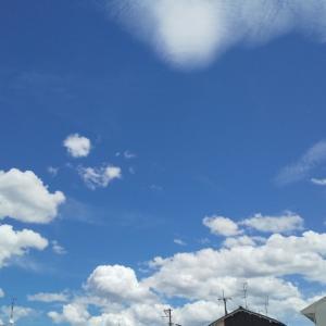 まだまだ、酷暑が続きそうな予報。 真夏の空模様