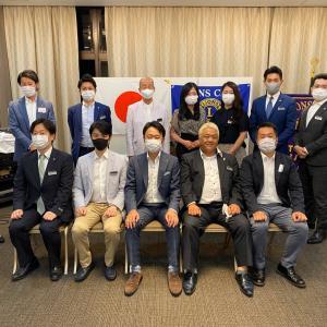 昨夜は久しぶりに東京山王ライオンズクラブの例会でした。