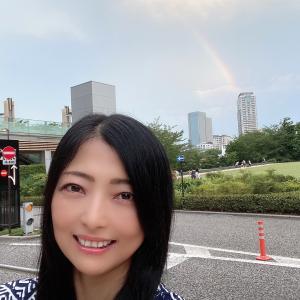 六本木で虹!その時、Amazonミュージックから流れてきたのはセカオワの「RAIN」