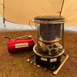 冬キャンプの必需品 ストーブとシェルター
