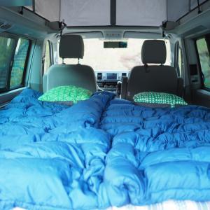 キャンプでの枕 サーマレスト コンプレッシブピロー
