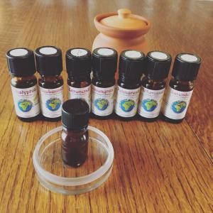 風邪、花粉症対策ブレンド精油