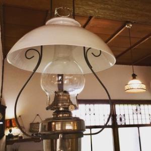 明治期のオイルランプ