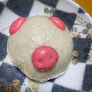 肉まん豚デコと激安牡蠣