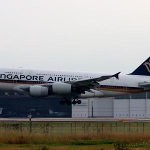 シンガポールの A380