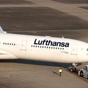 A330 フランクフルトへ ①