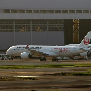 JAL A350 Take Off !