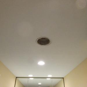初めて掃除した天井の24時間換気
