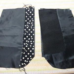 自分のズボン製作中