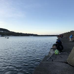 2021.9.20 アキアジ釣り (歌別漁港)