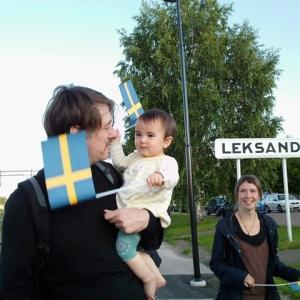 スウェーデン10年目記念日!