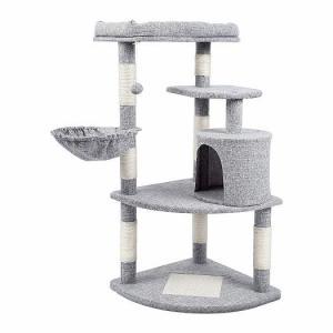 猫達に大不評なキャットタワーの巻~(哀)