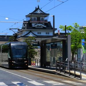 富山地方鉄道 富山軌道線 国際会議場前付近