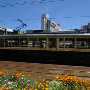 富山地方鉄道 富山軌道線 富山駅前付近
