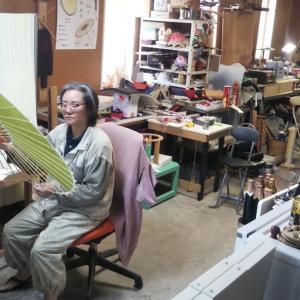 和傘の月夜観堂 中村屋さんへ行ってきました!
