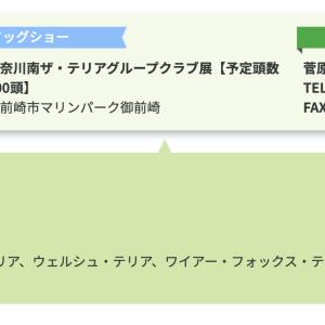 10/26「神奈川南ザ・テリアグループクラブ展」開催されます♪