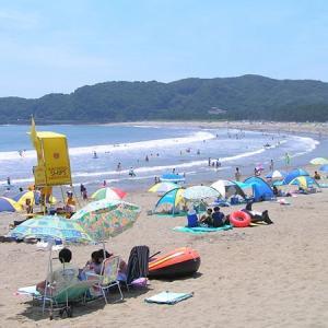 日本の渚百選【弓ヶ浜海水浴場】