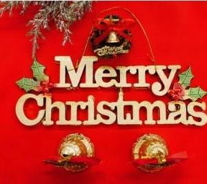 サンタクロースにお願いします!