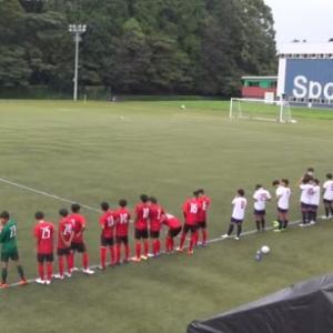 上武大学トップチーム 9月26日(土) 試合結果