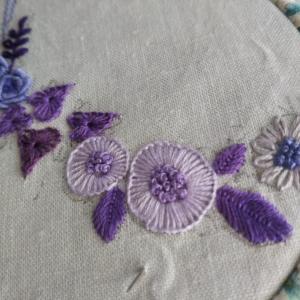 イタリアの刺繍本から☆A Flower Alphabet