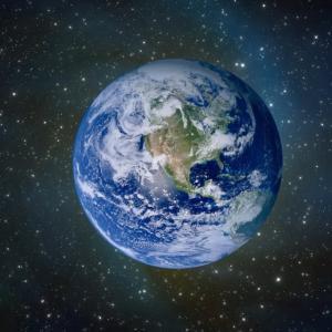 シフトアップした地球