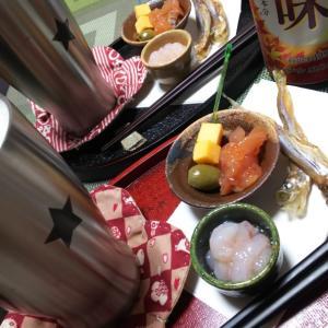 北海道の味を盛り付けて