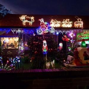 お家にクリスマスデコレーション